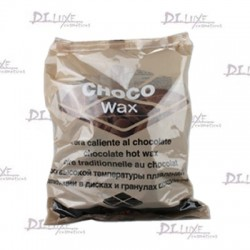 Cera Quente Discos Chocolate 1kg Beauty