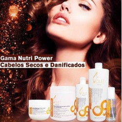 Nutri Power Violet Hair Cosmetics
