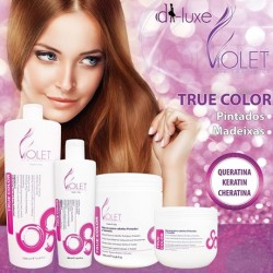 True Color (Cabelos Pintados e com Madeixas) Violet Hair Cosmetics