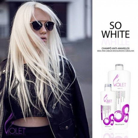 So White Violet Hair Cosmetics