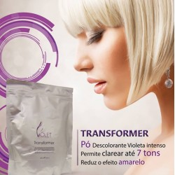 Pó Descolorante 500grs Violet Hair Cosmetics
