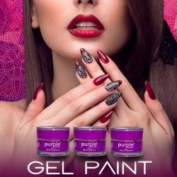 Gel Paint 5grs Purple Professional