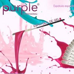 Espátula para mexer o Gel de Cor - Purple Professional