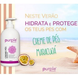 Creme de Pés Maracujá 500ml - Purple Professional