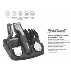 Máquina Aparar Barba e Cabelo Multi Trimmer 11 em 1 - RickiParodi