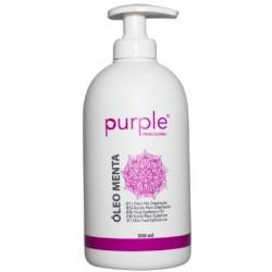 Óleo Pós Depilação Menta 500ml - Purple
