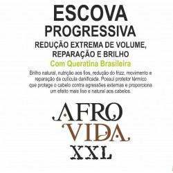 Escova Progressiva Afro Vida XXL 1000ml