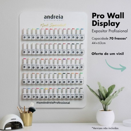 Expositor Profissional 70 Frascos - Andreia Professional