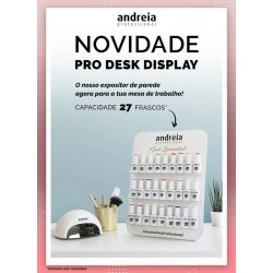PRO DESK DISPLAY - Expositor de mesa p/27 Vernizes - Andreia Professional