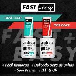 Fast & Easy Base Coat e Top Coat - Andreia Professional