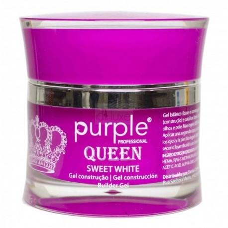 Gel de Construção Bifásico Queen 50grs Purple Professional