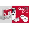A.Drill Pro Broca Micromotor Sem Fios 30000rpm Portátil Andreia Professional