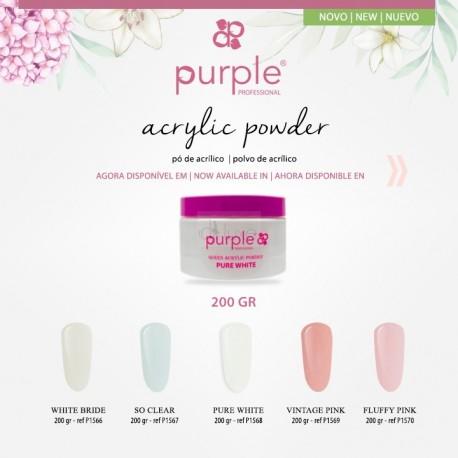 Pó Acrílico Linha Queen 200grs - Purple Professional
