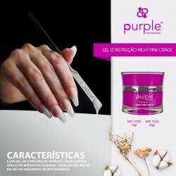 Gel de Construção Bifásico 50grs Purple Professional