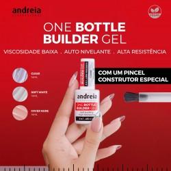 One Bottle Builder Gel Construção 3em1  14ml - Andreia Professional