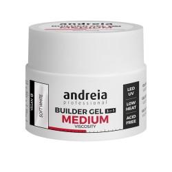 BUILDER GEL 3IN1 Gel de Construção 3em1 média viscosidade - Andreia Professional