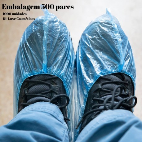 Cobre Sapatos Descartável (1000unid) 500 pares