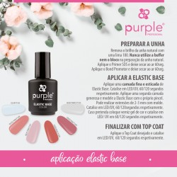 Elastic Base 15ml - Purple Professional