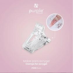 Molas para Tips Ballerina Acrygel 5 unidades - Purple