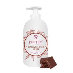Creme de Mãos e Pés VEGAN 500ml - Purple Professional