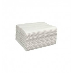 Toalhas Descartáveis Papel Absorvente 40x50cm 50 unidades