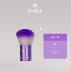 Pincel de Pó Metálico Decorado - Purple