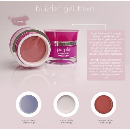 Gel de Construção Bifásico – BUILDER GEL THIXO - Purple